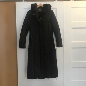 Log warm winter coat